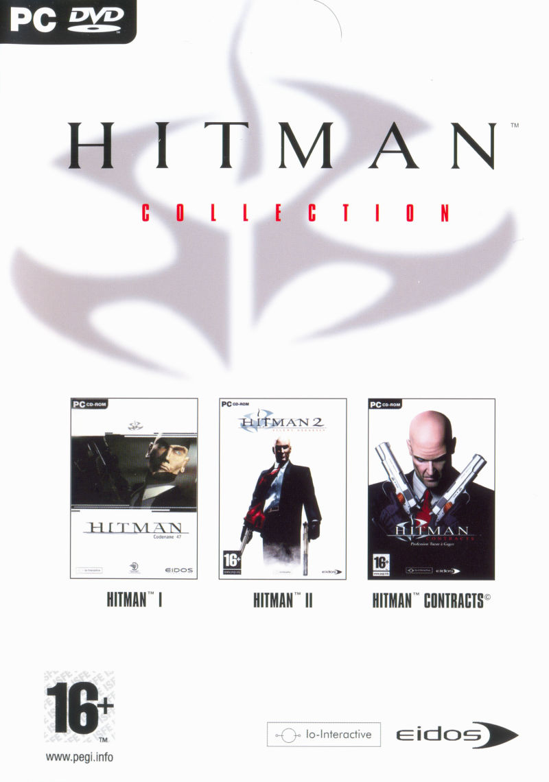 The Hitman Collection Windows Front Cover