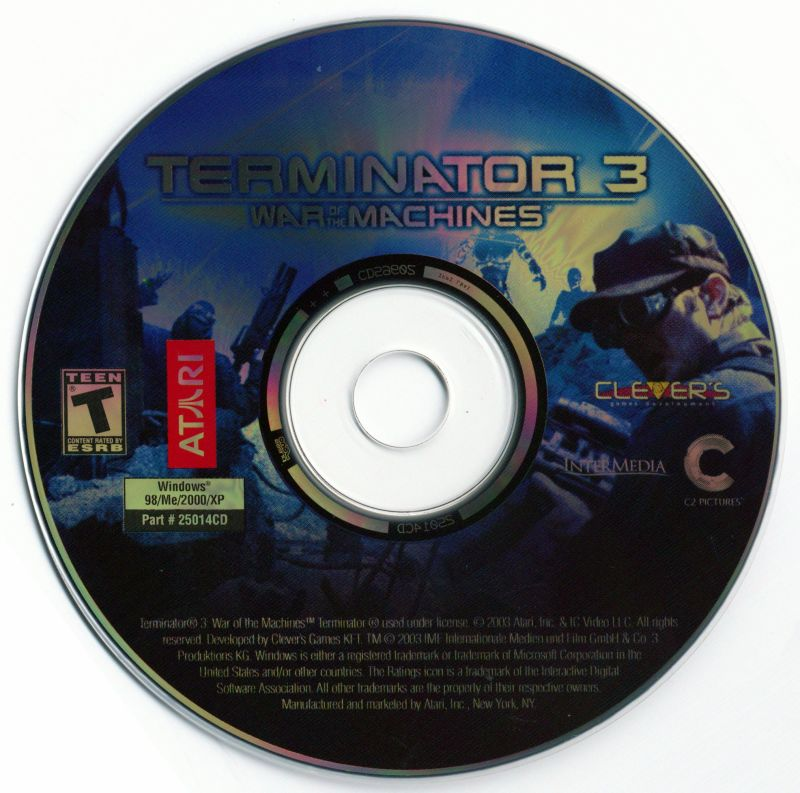Terminator 3: War of the Machines Windows Media