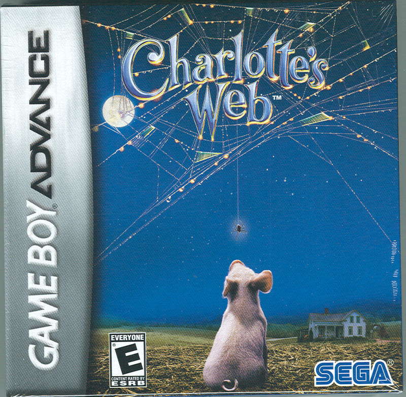 Charlotte's Web Game Boy Advance Front Cover