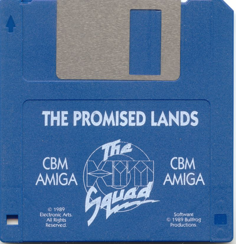Populous / Populous: The Promised Lands Amiga Media