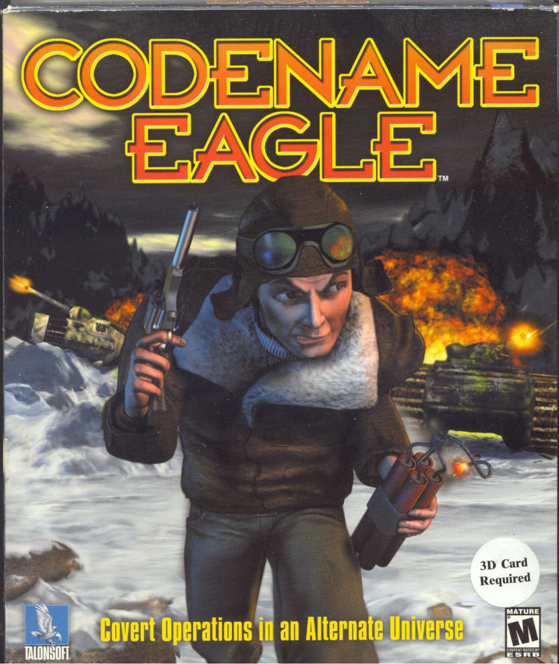 Codename: Eagle Windows Front Cover