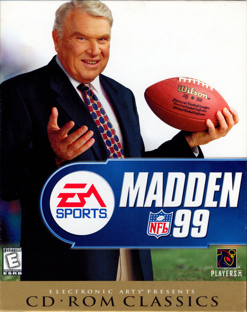 Madden NFL 99 Windows Front Cover