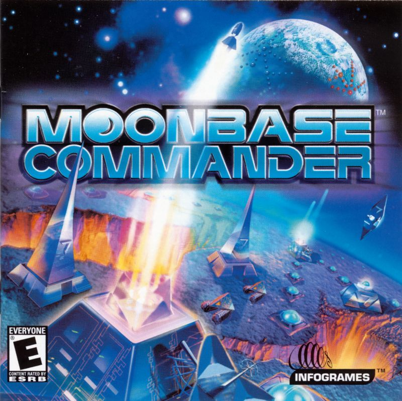 Moonbase Commander Windows Other Jewel Case - Front