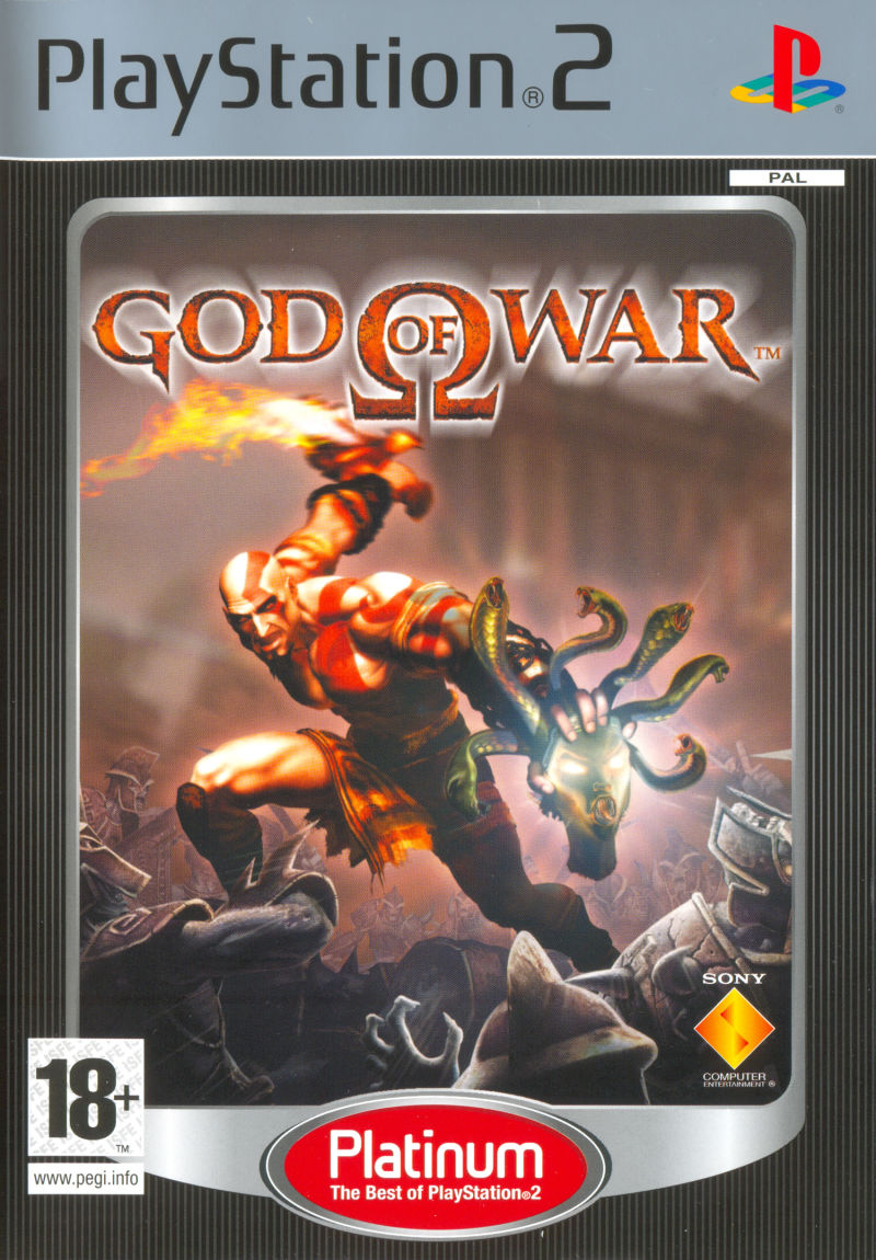God of War PlayStation 2 Front Cover