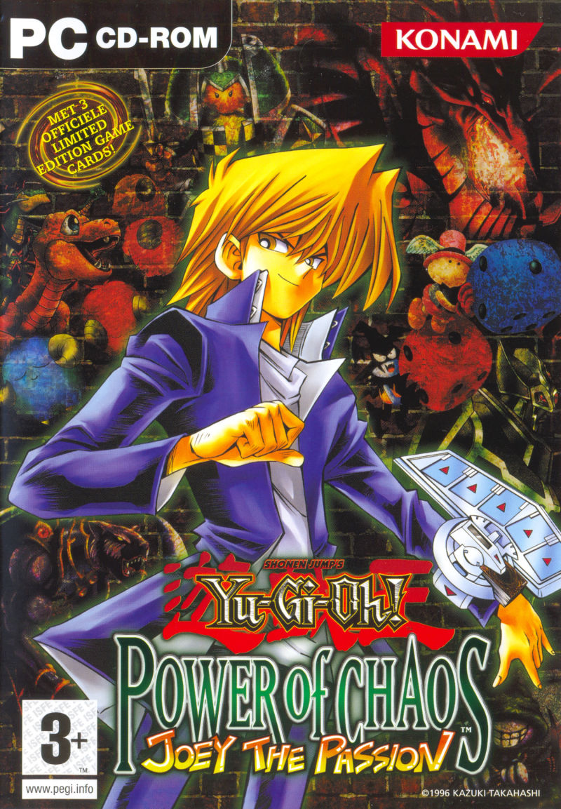 Yu-Gi-Oh! Power of Chaos: Joey the Passion Windows Front Cover