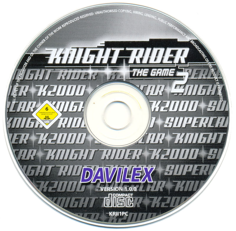 Knight Rider 2: The Game Windows Media