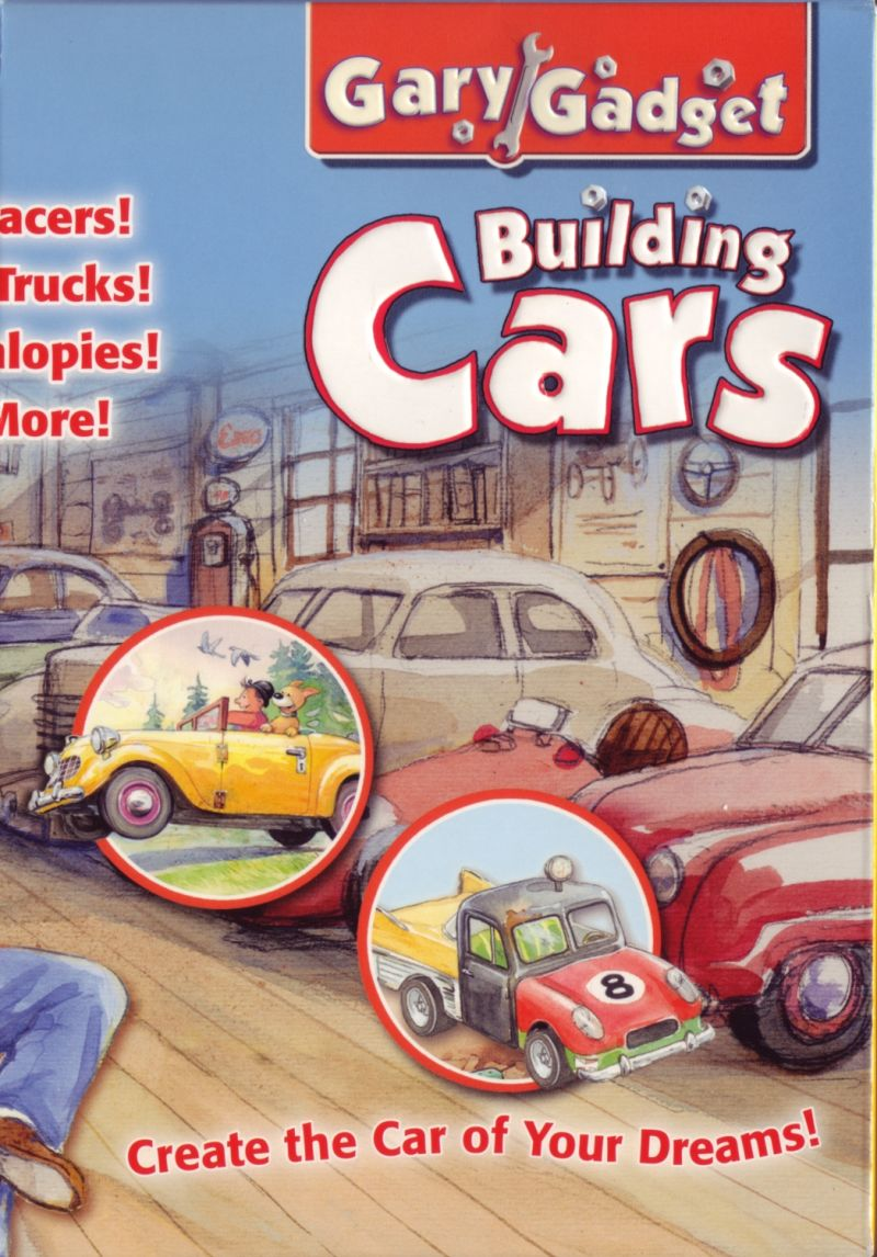 Gary Gadget: Building Cars Macintosh Inside Cover Right