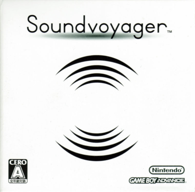 Soundvoyager Game Boy Advance Front Cover