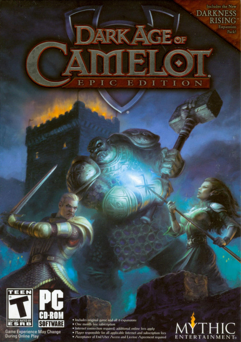 Dark Age of Camelot: Epic Edition Windows Front Cover