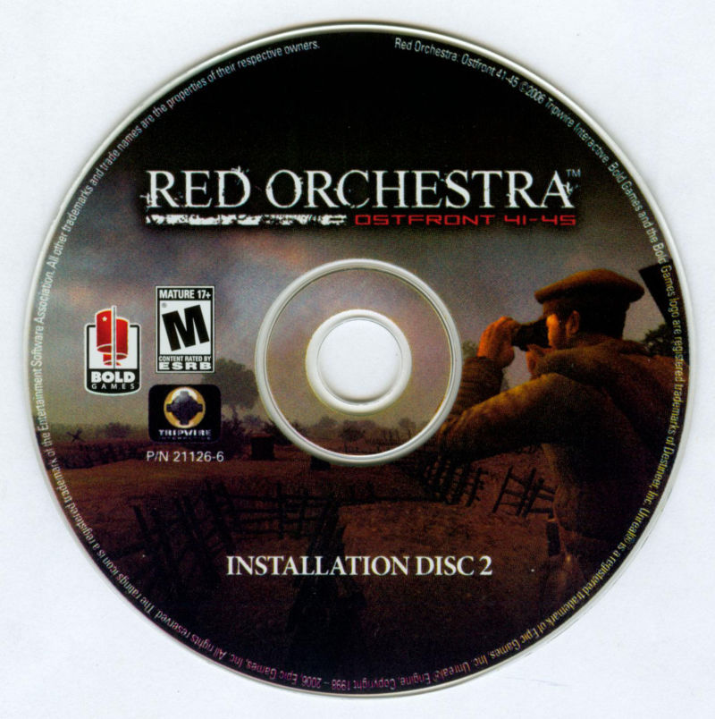 Red Orchestra: Ostfront 41-45 Windows Media Disc 2