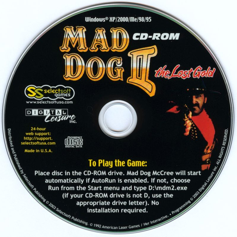 Mad Dog II: The Lost Gold Windows Media