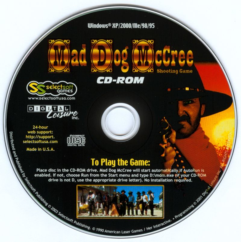 Mad Dog McCree Windows Media