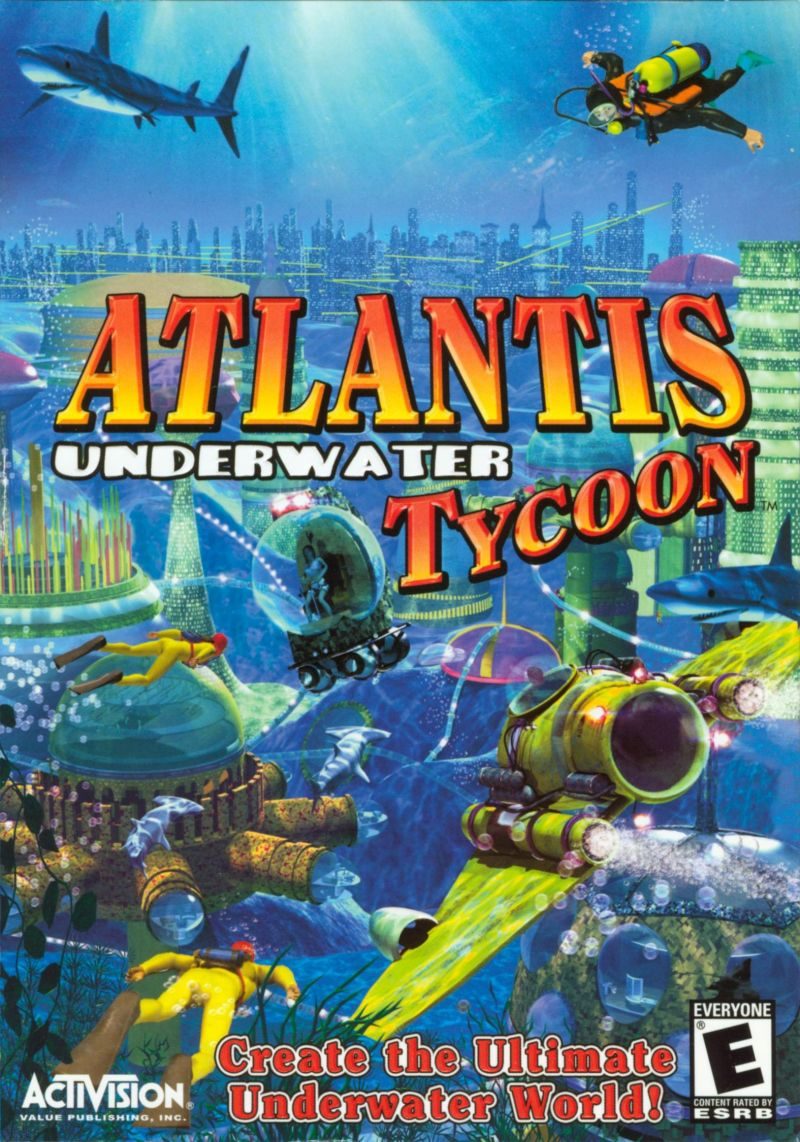 Atlantis Underwater Tycoon Windows Front Cover