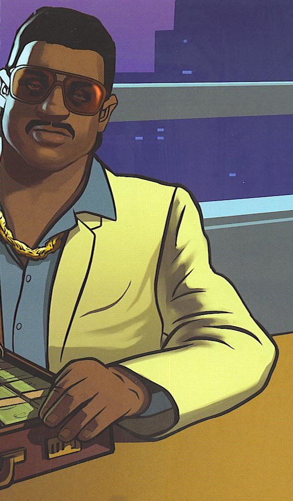 Grand Theft Auto: Vice City Stories PSP Inside Cover Right Side