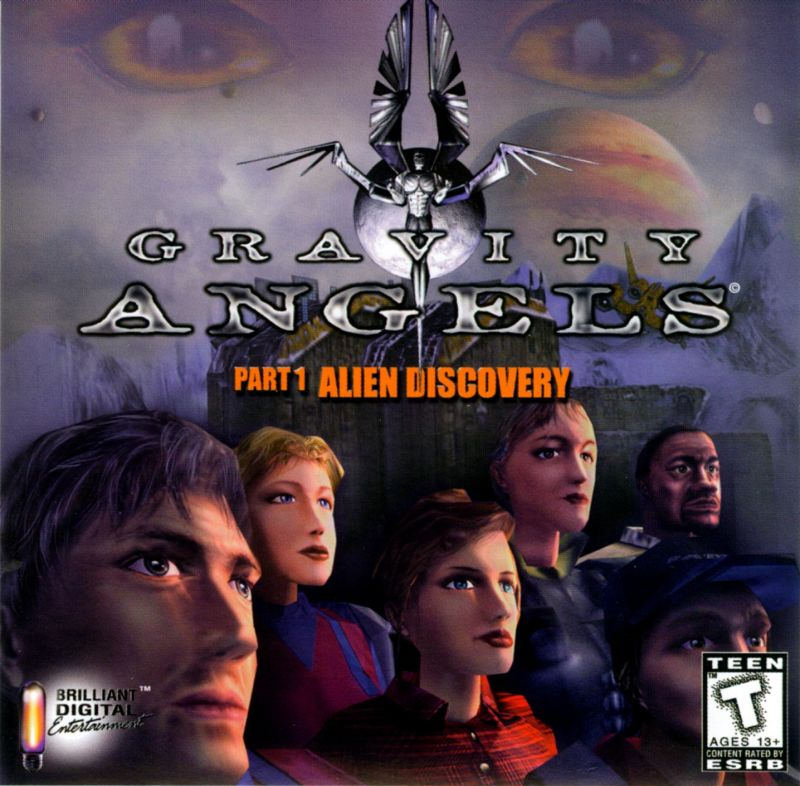 Gravity Angels Part 1: Alien Discovery Windows Front Cover