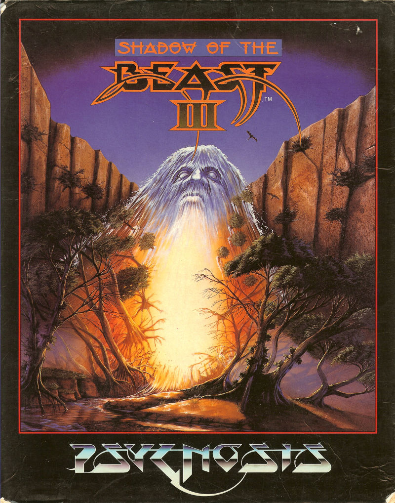 Shadow of the Beast III Amiga Front Cover