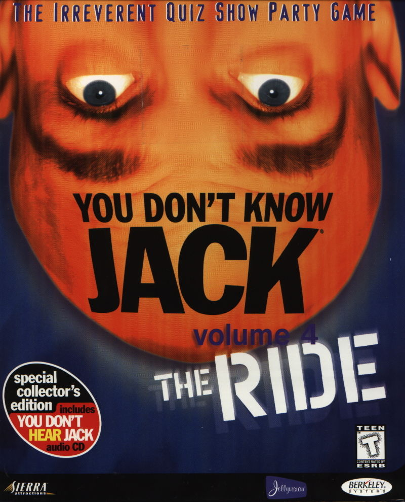 You Don't Know Jack: Volume 4 - The Ride Windows Front Cover