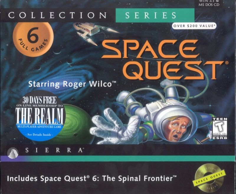 Space Quest: Collection Series DOS Front Cover