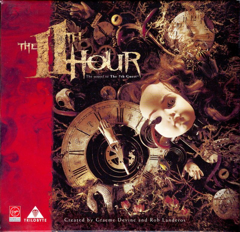 The 11th Hour DOS Other Disc Storage Box - Front