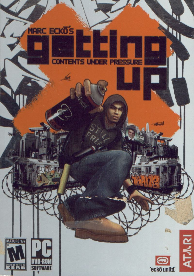 Marc Ecko's Getting Up: Contents Under Pressure (2006