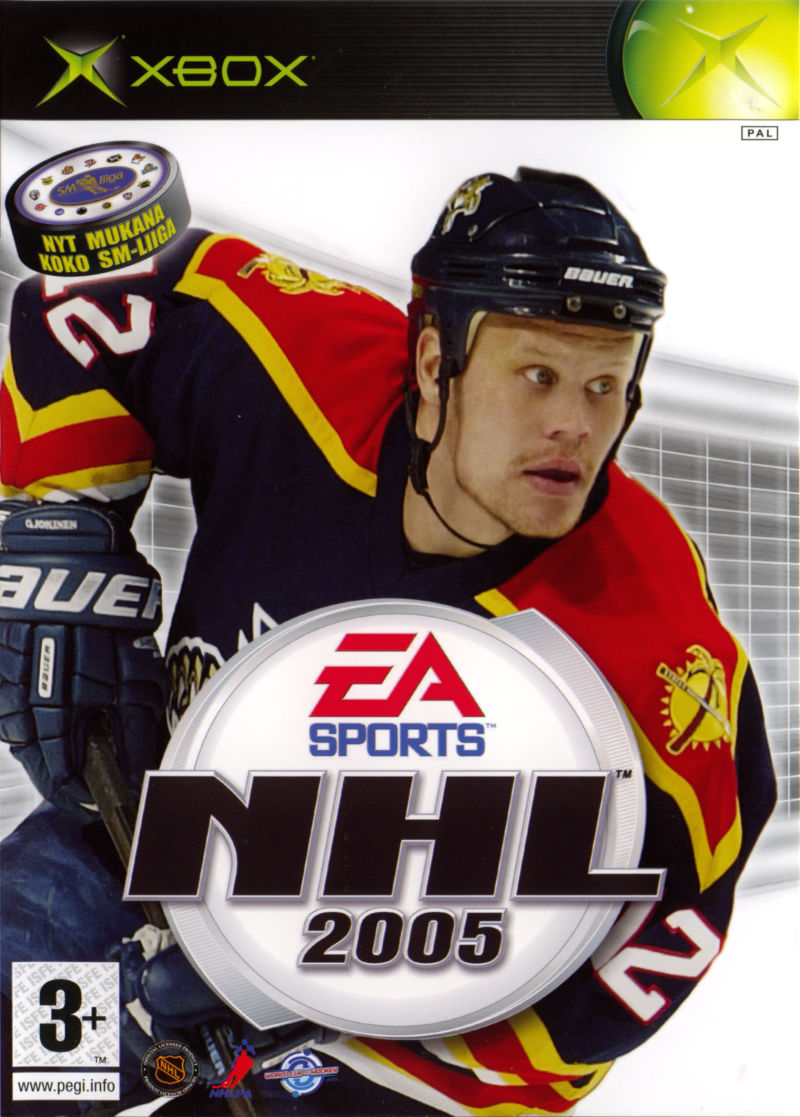 NHL 2005 (2004) GameCube box cover art - MobyGames