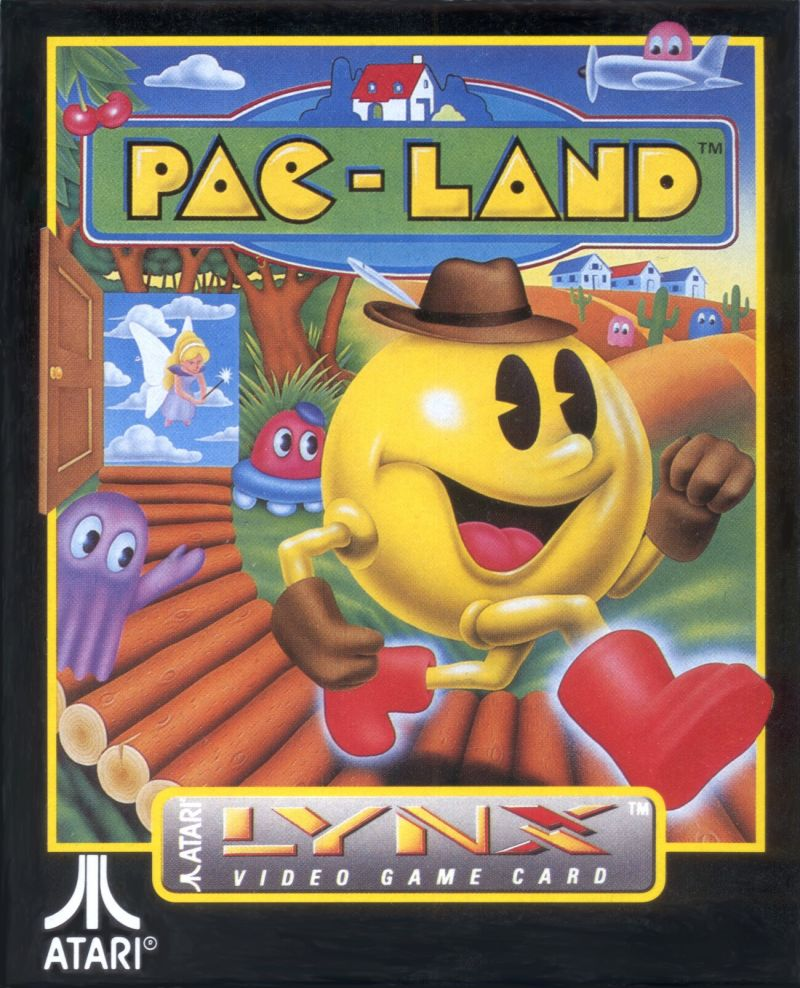 Pac-Land Lynx Front Cover