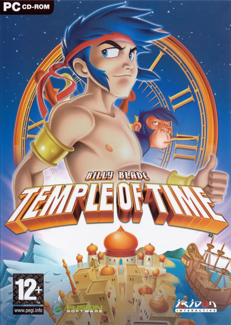 Billy Blade: Temple of Time Windows Front Cover