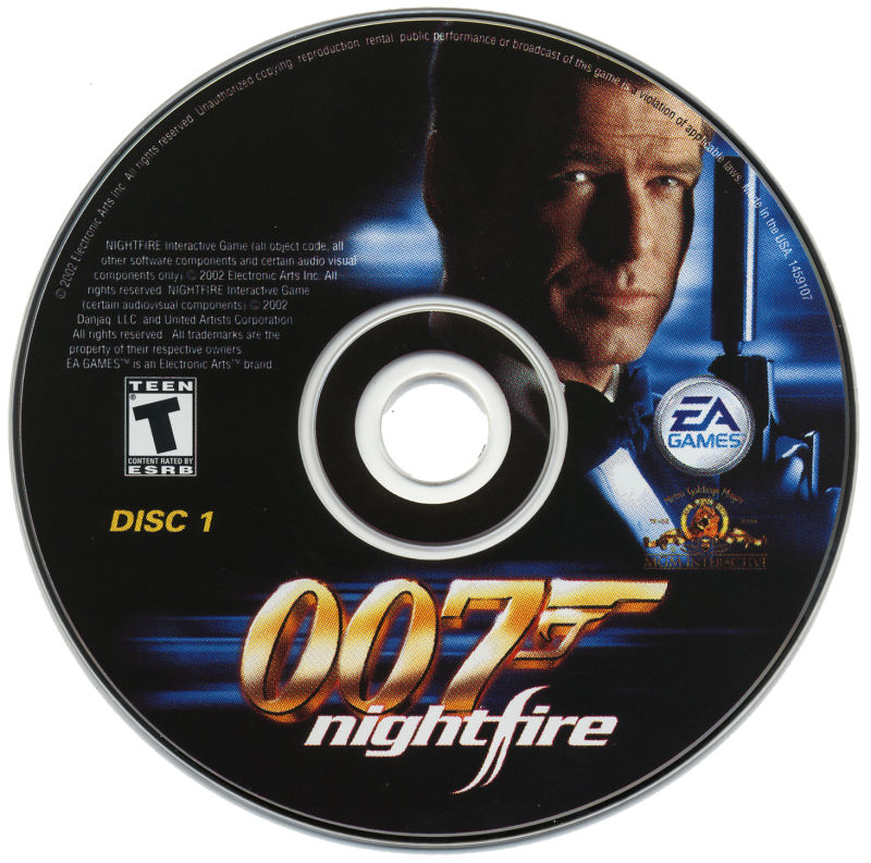 007: Nightfire Windows Media Disc 1/2