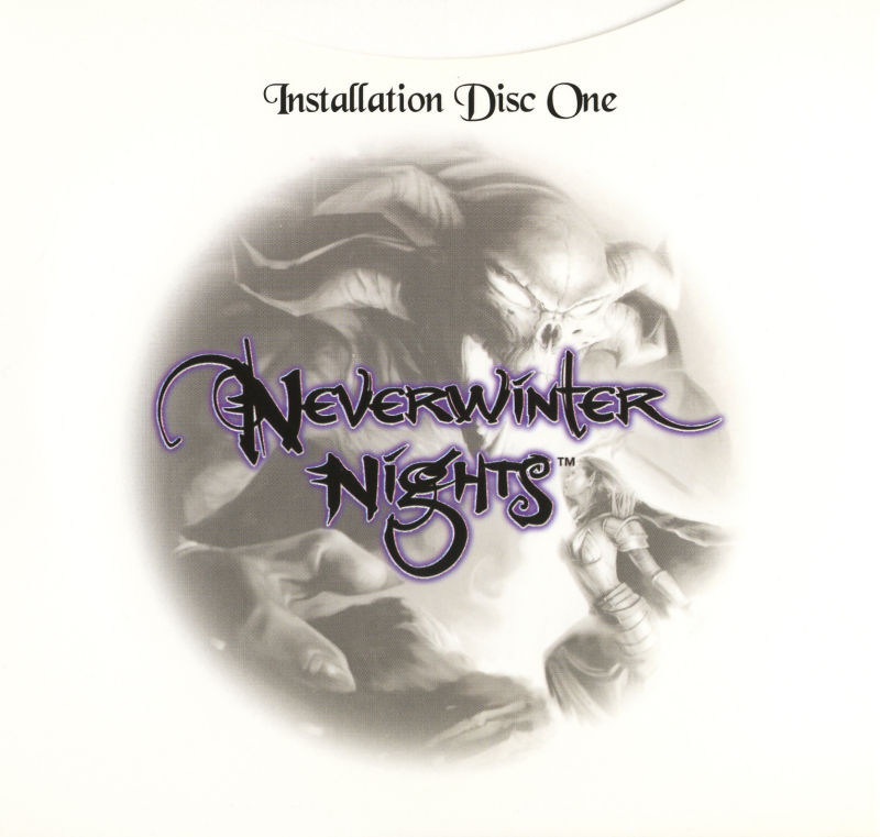 Neverwinter Nights: Hordes of the Underdark Windows Other CD Sleeve - Inside Far Left