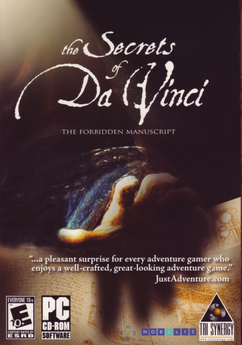 The Secrets of Da Vinci: The Forbidden Manuscript Windows Front Cover