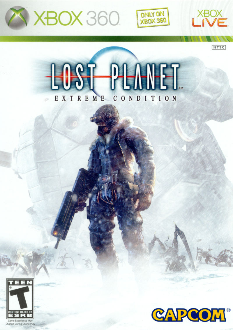 Lost Planet: Extreme Condition Xbox 360 Front Cover