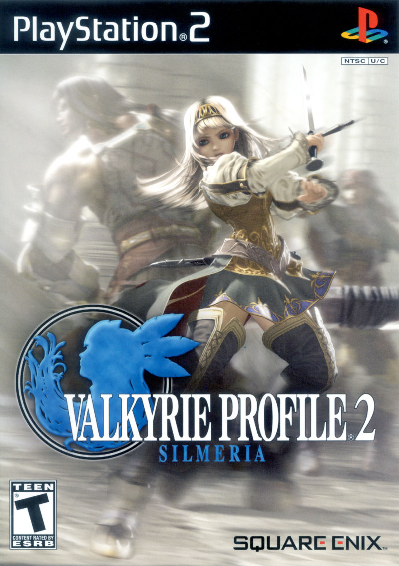 Valkyrie Profile 2: Silmeria PlayStation 2 Front Cover