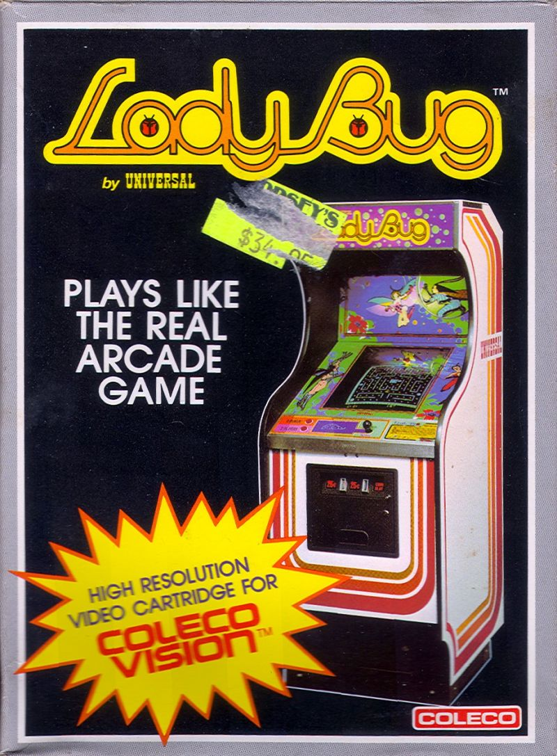Lady Bug for Arcade (1981) - MobyGames
