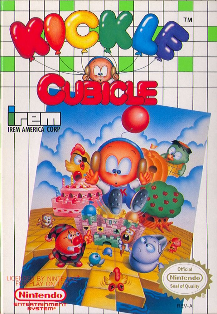 Kickle Cubicle for NES (1990) - MobyGames