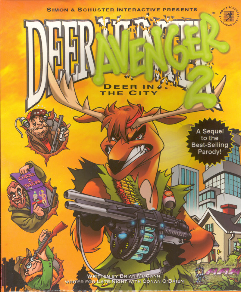 Deer Avenger 2: Deer in the City Macintosh Front Cover