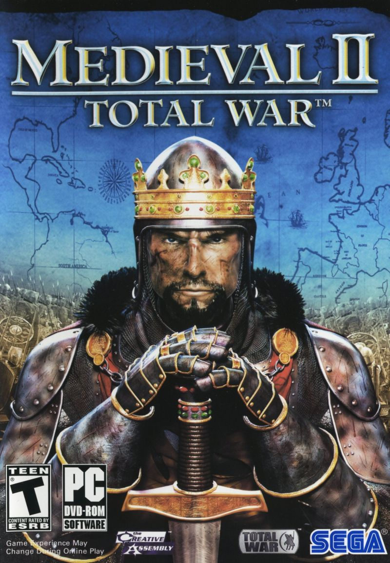 Medieval II: Total War Windows Other Keep Case - Front