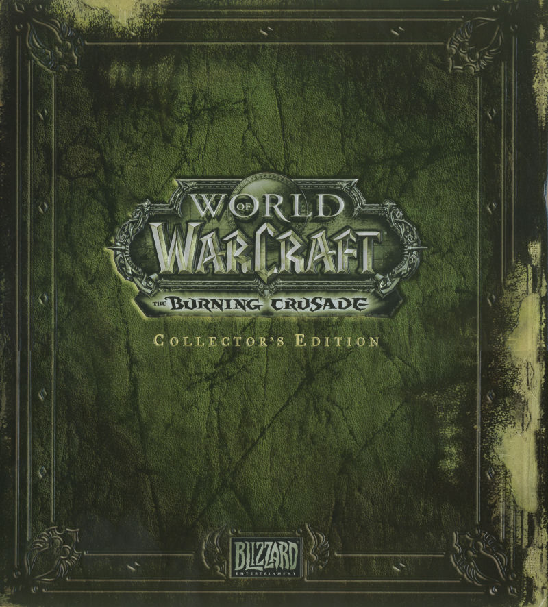 World of Warcraft: The Burning Crusade (Collector's Edition) Macintosh Front Cover