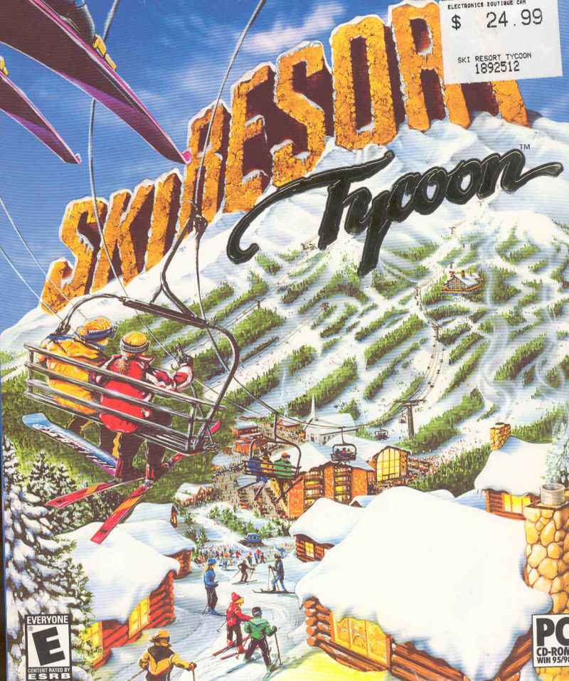 Ski Resort Tycoon Windows Front Cover