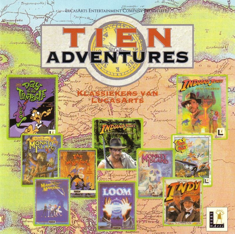 Zehn Adventures DOS Other Jewel Case - Front