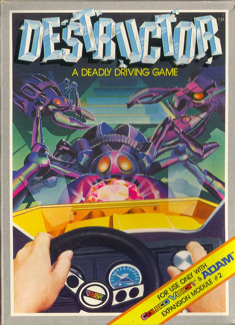 Destructor ColecoVision Front Cover
