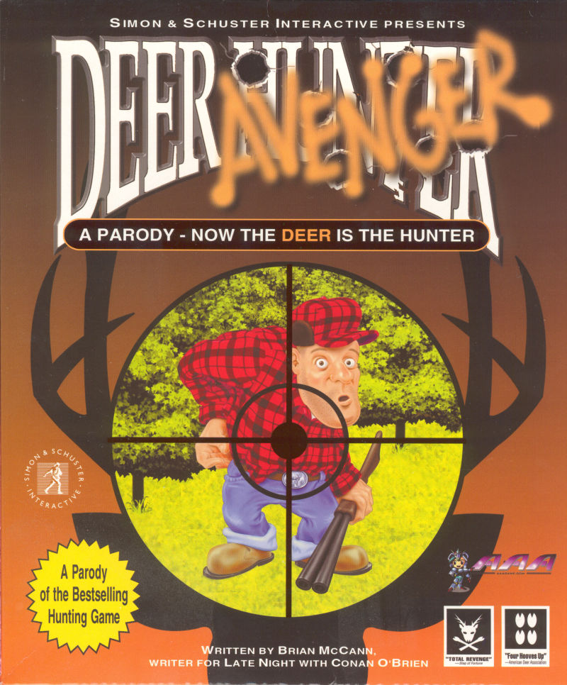 Deer Avenger Windows Front Cover