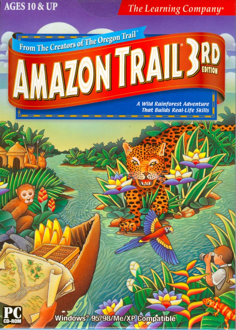 Amazon Trail 3rd Edition Macintosh Front Cover