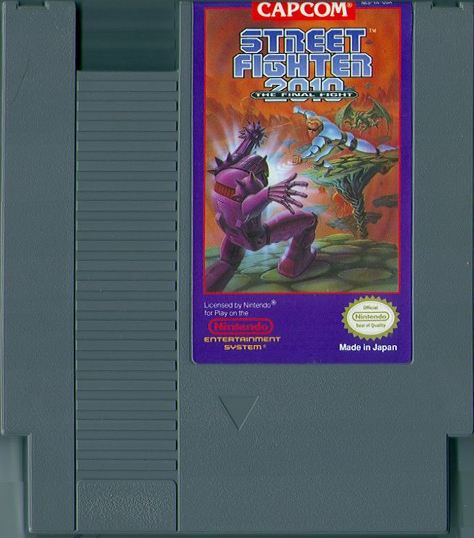 Street Fighter 2010: The Final Fight NES Media