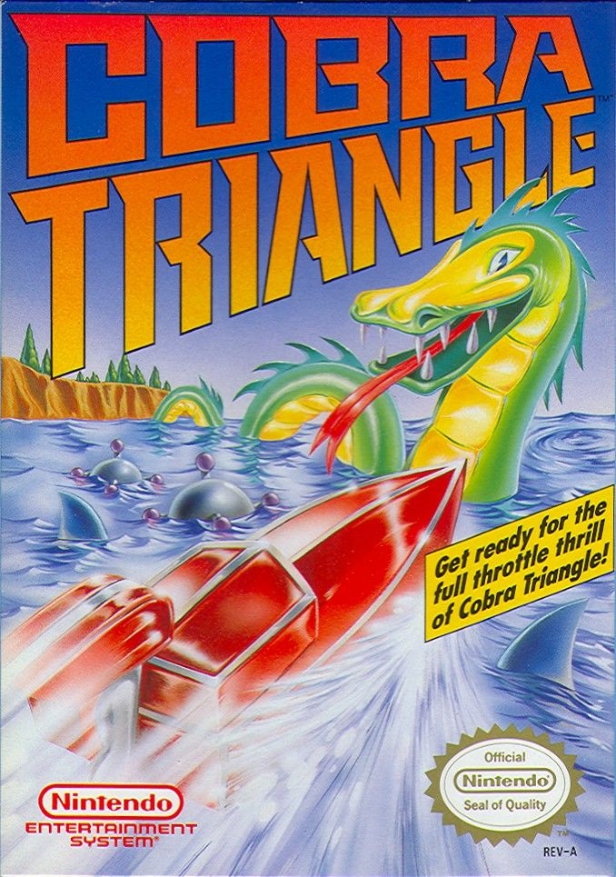 Cobra Triangle NES Front Cover