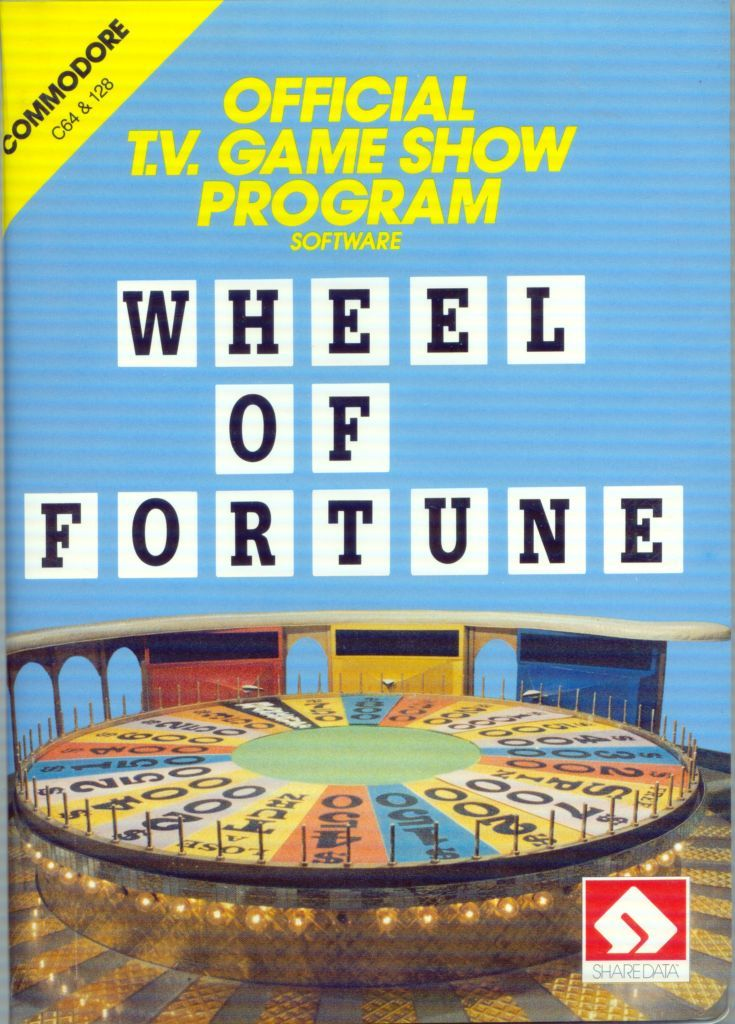 wheel of fortune for commodore 64 1987 mobygames. Black Bedroom Furniture Sets. Home Design Ideas