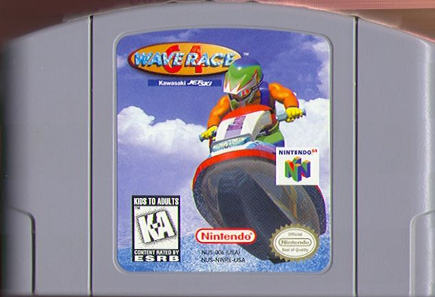 Wave Race 64: Kawasaki Jet Ski Nintendo 64 Media