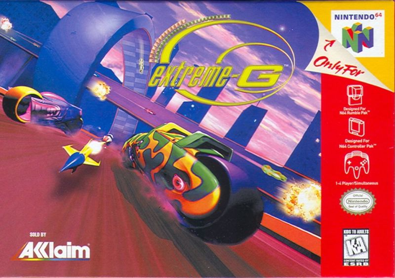 Extreme-G Nintendo 64 Front Cover
