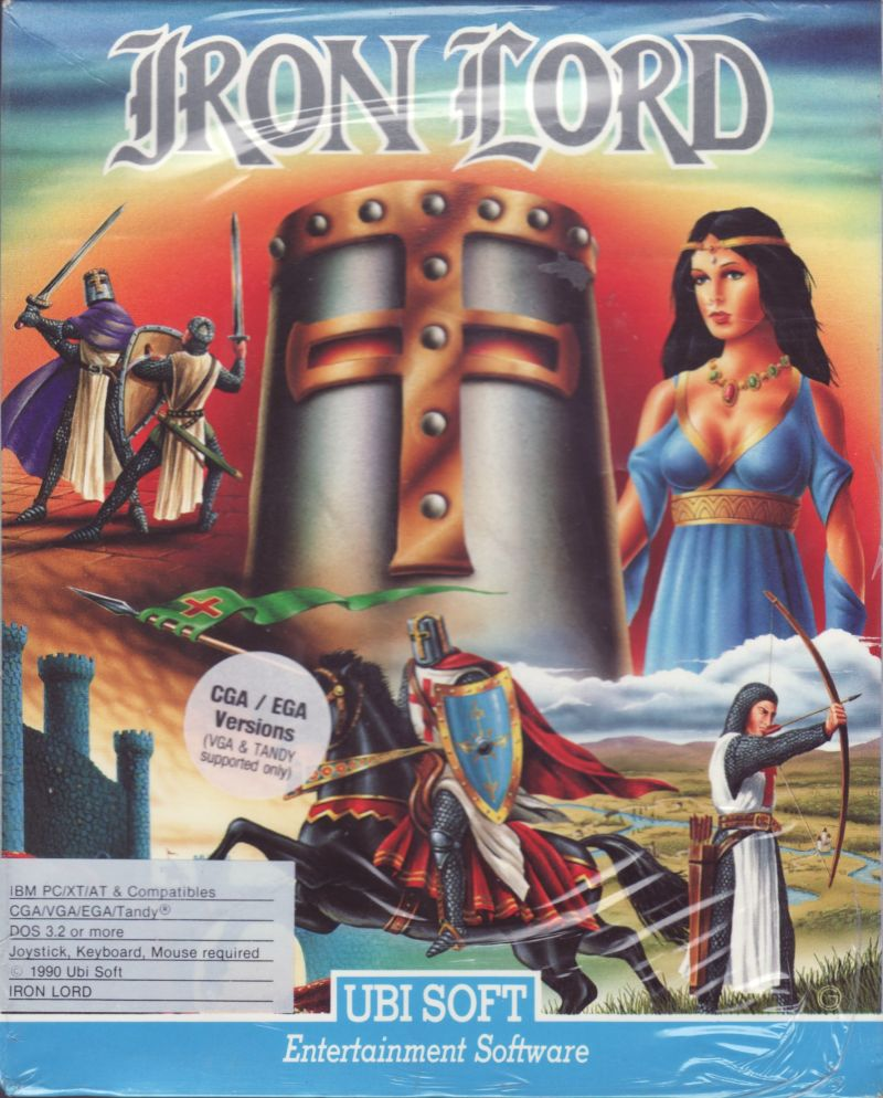 Iron Lord DOS Front Cover
