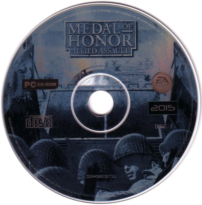 Medal of Honor: Allied Assault Windows Media Disc 1