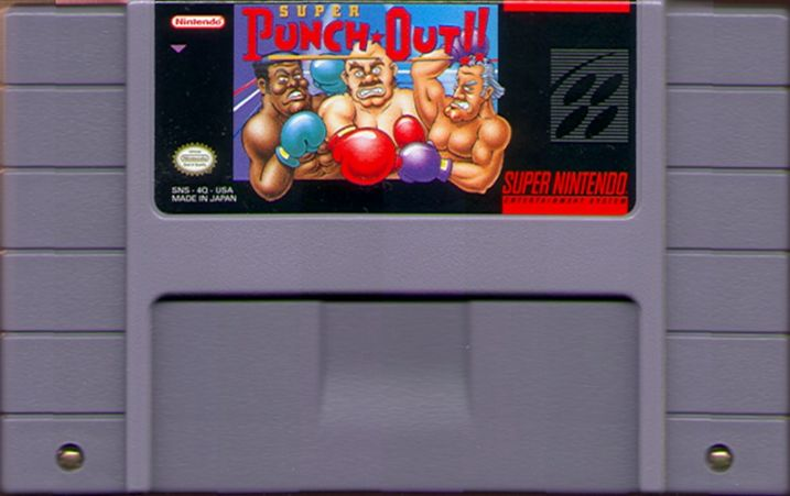 Super Punch-Out!! SNES Media